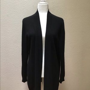Charter Club Cashmere Cardigan Sweater Open Front